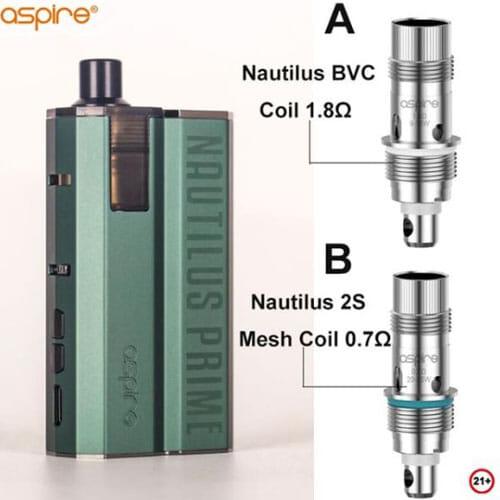 Cartouche Nautilus Prime [POD] Aspire | CigaretteElec