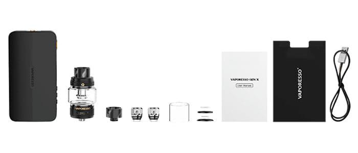 contenu-du-pack-VAPORESSO-KIT-GEN-X