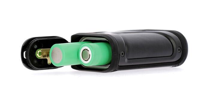 batterie compatible avec 2 accu 18650