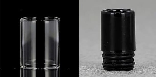 pyrex et drip tip cigarette electronique
