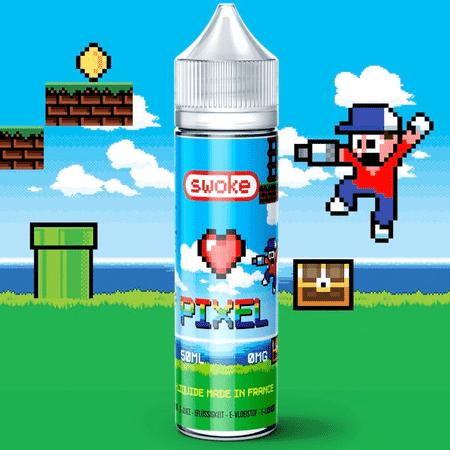 E Liquide Pixel 50ml - Swoke