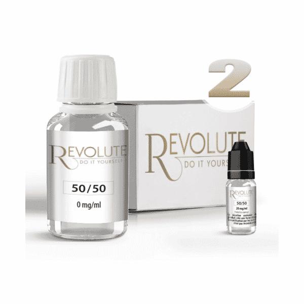 Pack DIY 50% PG / 50% VG Revolute 100 ml