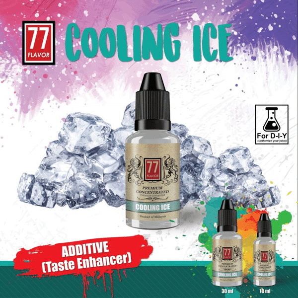 Additif Cooling Ice 77 Flavor image 2
