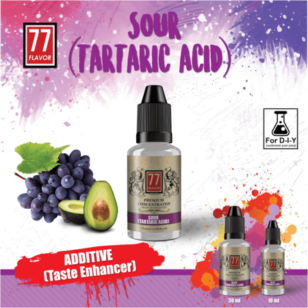 Additif  SOUR Berries (Tartaric Acid) 77 Flavor image 2