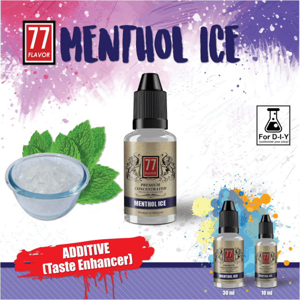 Additif Menthol Ice 77 Flavor image 2