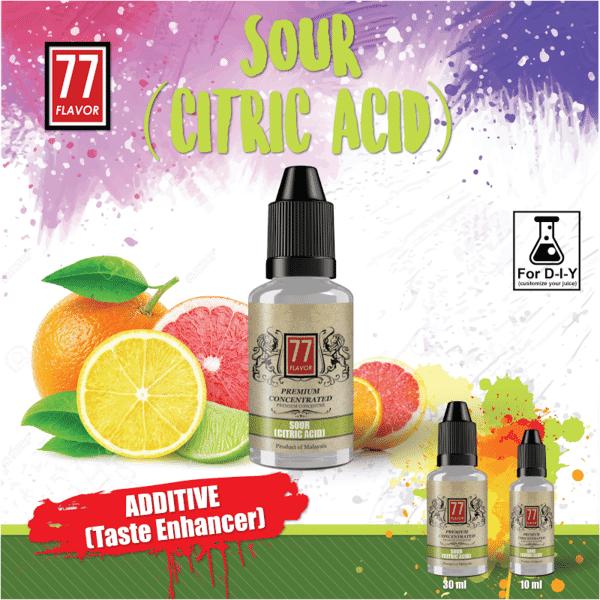 Additif Citric Acid 77 Flavor image 2
