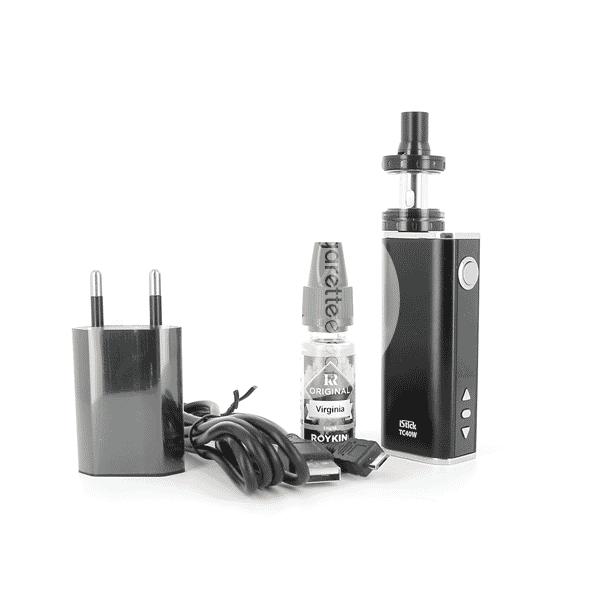 Kit iStick 40W Nautilus X + 1 E-liquide 6mg Classic