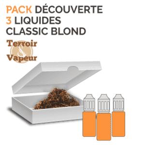 Pack Découverte Classic Blond Terroir Et Vapeur