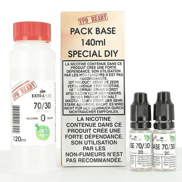 Pack DIY 70% PG / 30% VG Extrapure 140ml