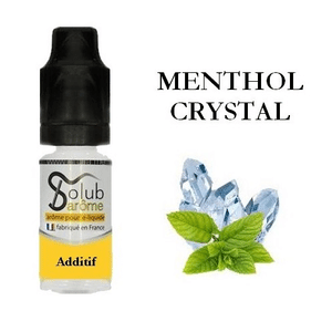 Additif Menthol Crystal Solubarome