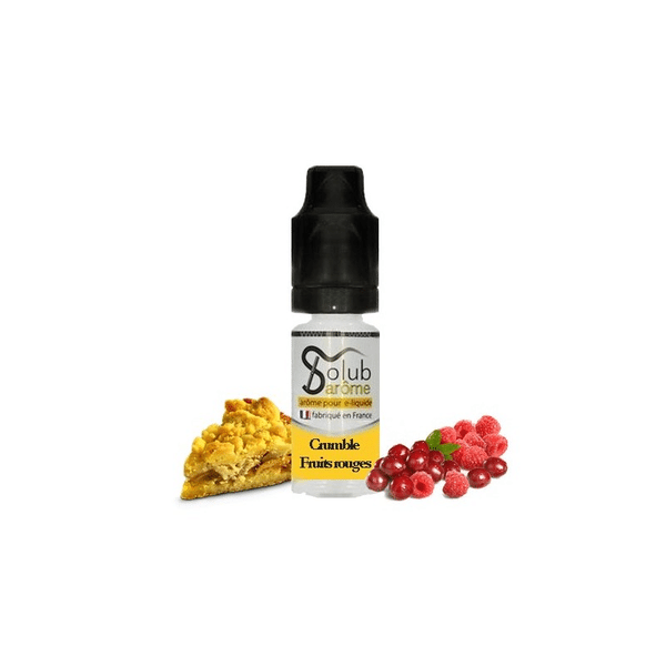 Arôme Crumble Fruits Rouges Solubarome