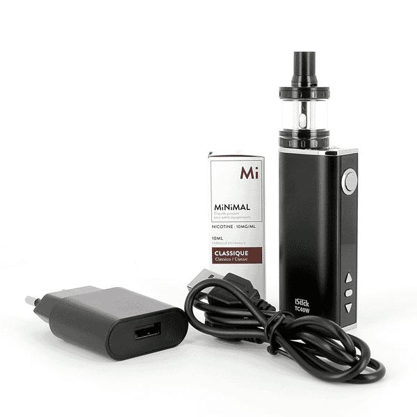 Kit iStick 40W Nautilus X + 1 E-liquide 10mg Classic (Sels de nicotine)