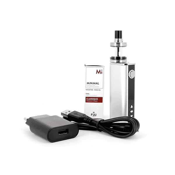 Kit iStick 40W Nautilus X + 1 E-liquide 10mg Classic (Sels de nicotine) image 2
