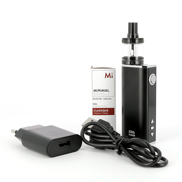 Kit iStick 40W Nautilus X + 1 E-liquide 20mg Classic (Sels de nicotine)