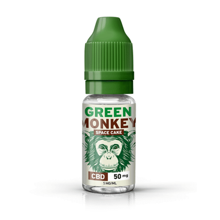 Space Cake Green Monkey