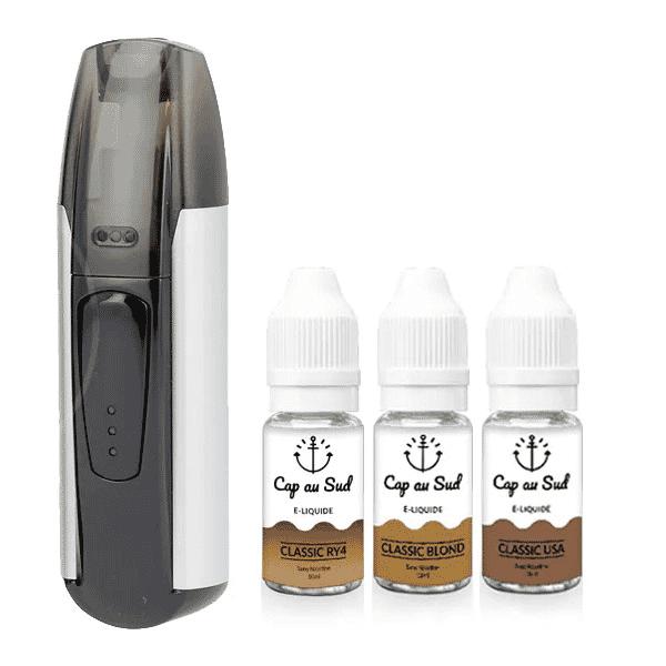 Kit MiniFit Justfog + 3 liquides Cap au Sud 6mg image 5