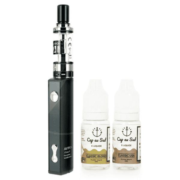 Kit Q16 JustFog + 2 E-liquides Cap au Sud 6mg