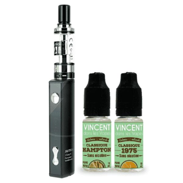 Kit Q16 JustFog + 2 E-liquides VDLV 6mg