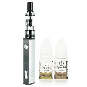 Kit Q16 JustFog + 2 E-liquides Cap au Sud 16mg