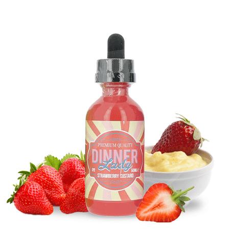Strawberry Custard 50 ml - Dinner Lady