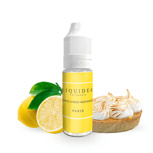 Tarte Citron Meringuée - Tentation - Liquideo