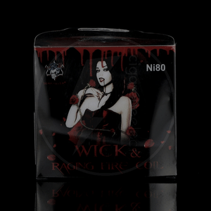 Coffret fils résistifs Wick & Raging Fire Coil Ni80 - Demon Killer