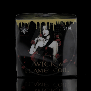 Coffret fils résistifs Wick & Flame Coil 316L - Demon Killer