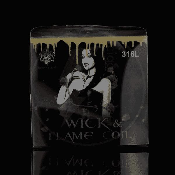 Coffret fils résistifs Wick & Flame Coil 316L - Demon Killer