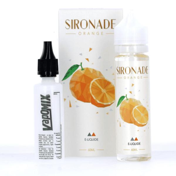 E-liquide 60 ml Orange - Sironade image 2