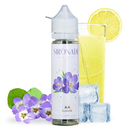 E-liquide 60 ml Violette - Sironade image 2