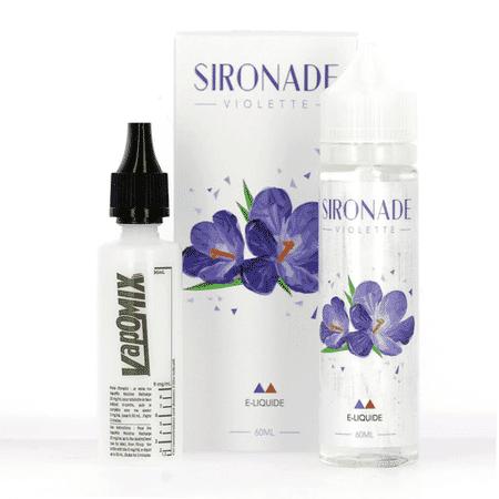 E-liquide 60 ml Violette - Sironade image 3