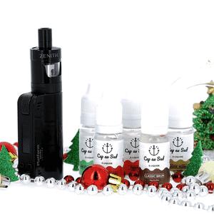 Kit Découverte Coolfire Mini Zenith + 5 liquides Cap au Sud