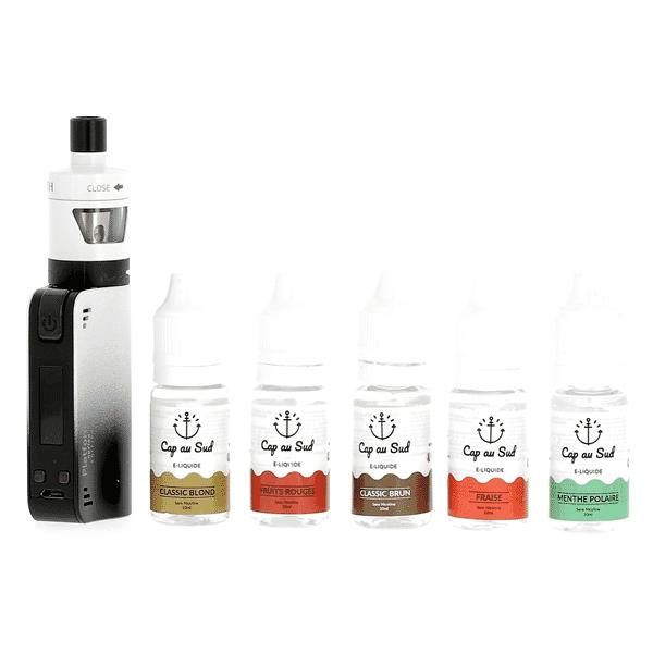 Kit Découverte Coolfire Mini Zenith + 5 liquides Cap au Sud image 2