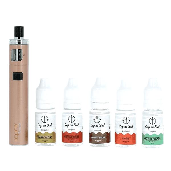 Kit Découverte PockeX + 5 liquides Cap au Sud