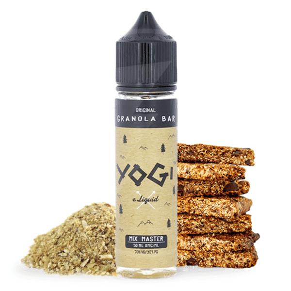 E-liquide 50 ml Original Granola Bar - Yogi eLiquide
