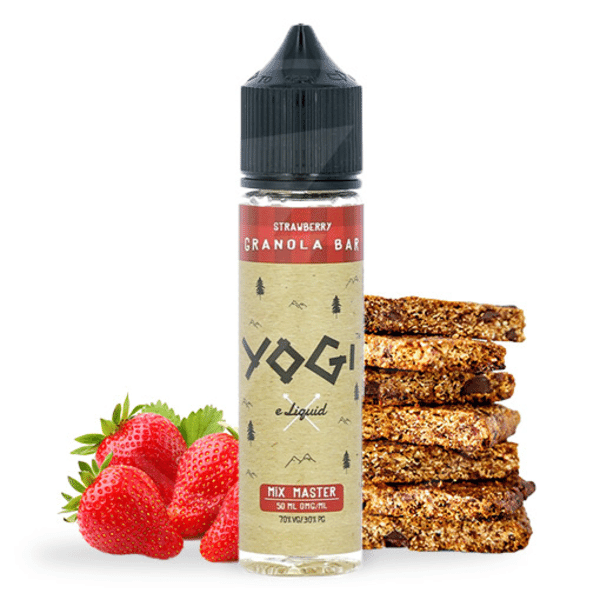 E-liquide 50 ml Strawberry Granola Bar - Yogi eLiquid