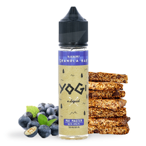 E-liquide 50 ml Blueberry Granola Bar - Yogi eLiquid