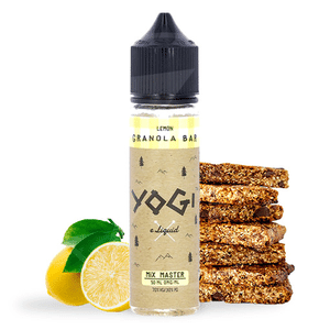 E-liquide 50 ml Lemon Granola Bar - Yogi eLiquid