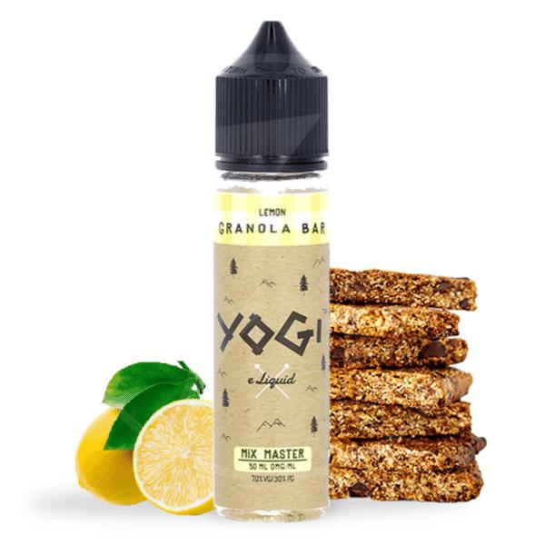E-liquide 50 ml Lemon Granola Bar - Yogi eLiquid