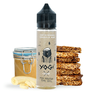 E-liquide 50 ml Peanut Butter Banana Granola Bar - Yogi eLiquid