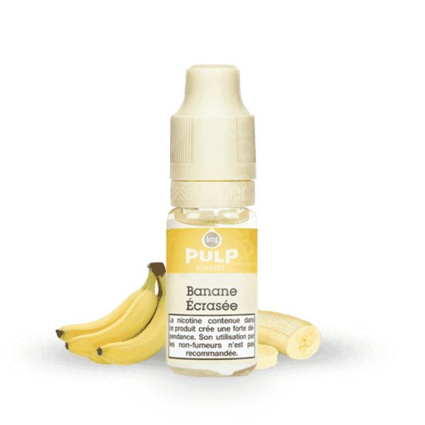 E-liquide Banane écrasée - Pulp