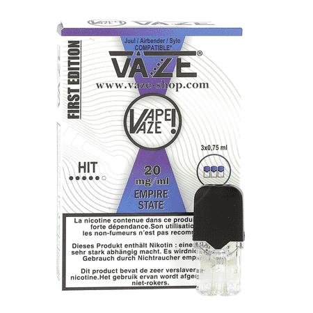 Cartouches Pod Vaze (lot de 4 / Plusieurs saveurs) - Vaze (juul compatible) image 3