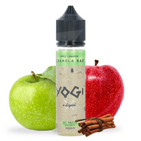 E-liquide 50 ml Apple Cinnamon Granola Bar - Yogi eLiquid