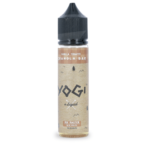 E-liquide 50 ml Vanilla Tobacco Granola Bar - Yogi eLiquid