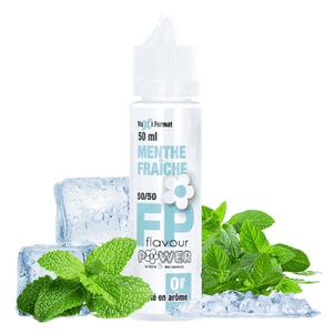 Eliquide 50ml Menthe Fraîche - Flavour Power