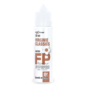 Eliquide 50ml Virginie Classics - Flavour Power