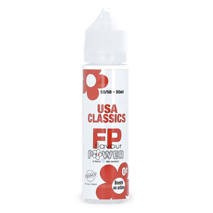 Eliquide 50ml USA Classic - Flavour Power