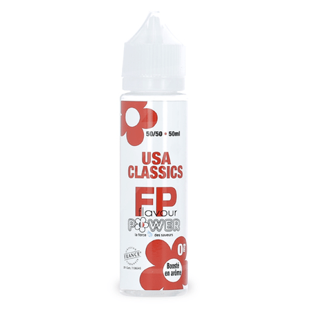 USA Classic 50ml Flavour Power