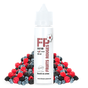 Eliquide 50ml Fruits Rouges - Flavour Power