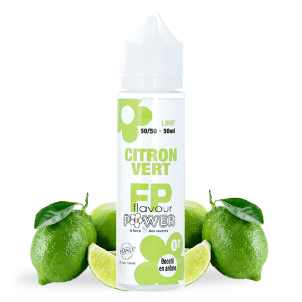 Eliquide 50ml Citron Vert - Flavour Power